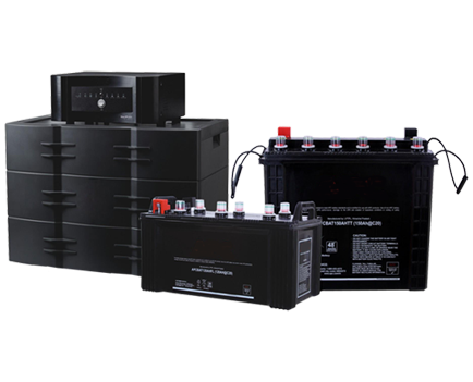 Standby power plants UPS