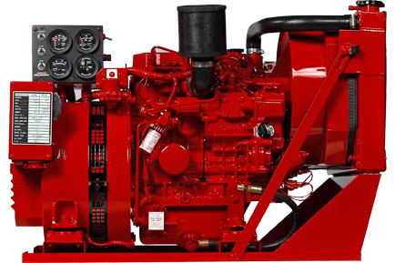 Fuel oil generator sets